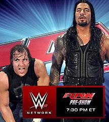 <b>WWE2015年1月13日《RAW最新赛事》</b>