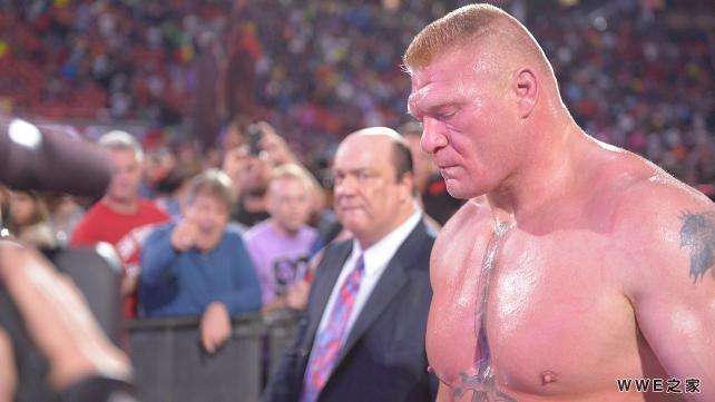 vs 布洛克 塞斯兑换公文包 WWE2015摔角狂热31 41