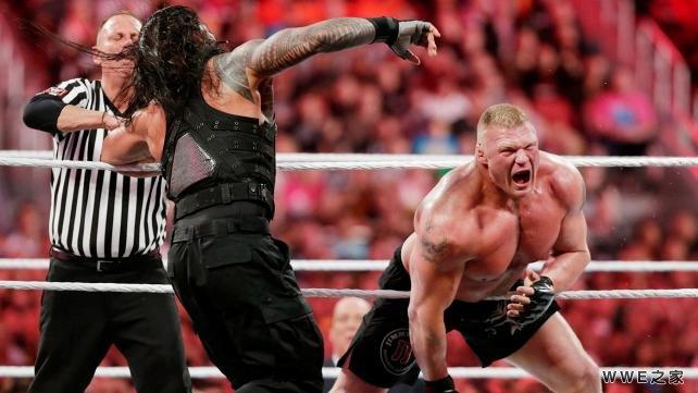 vs 布洛克 塞斯兑换公文包 WWE2015摔角狂热31 9