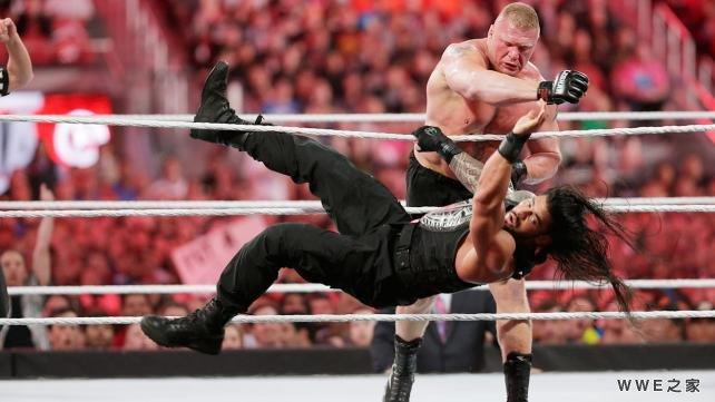 vs 布洛克 塞斯兑换公文包 WWE2015摔角狂热31 10
