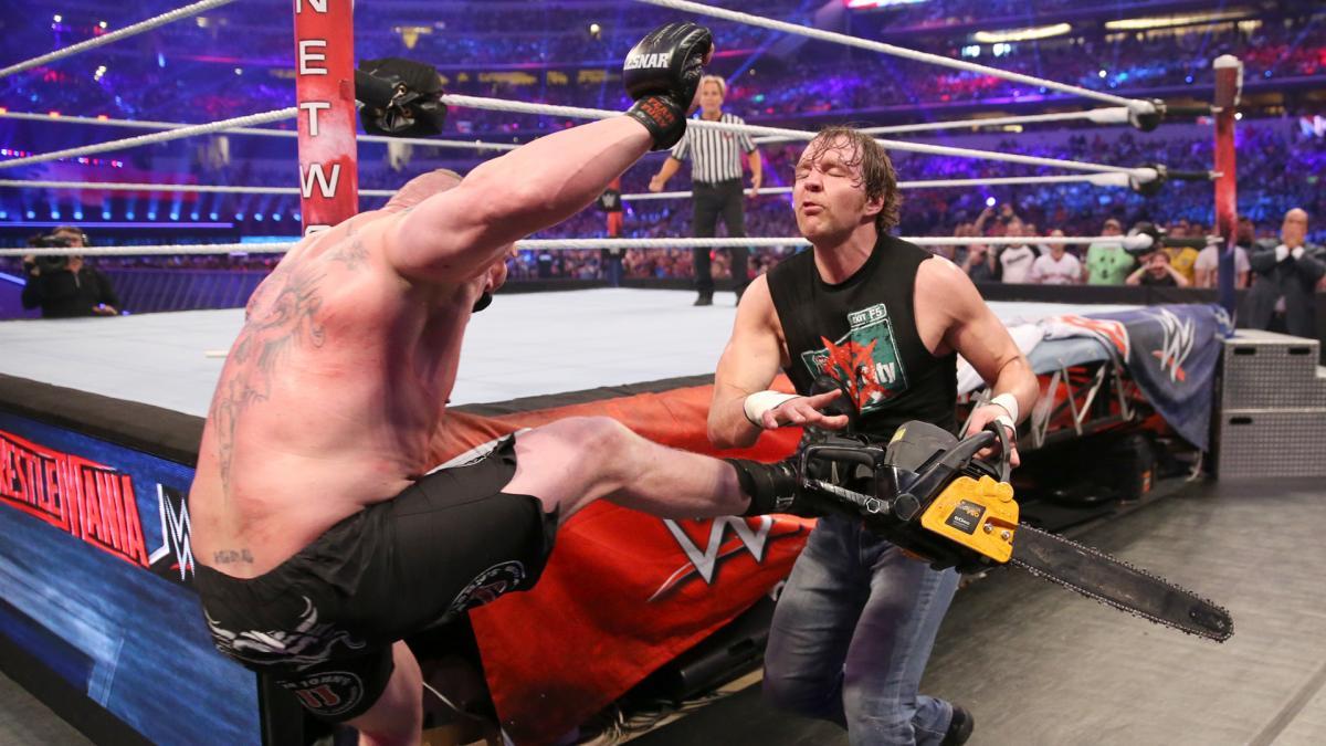 洛克 莱斯纳 WWE2016摔角狂热大赛 25高清图片