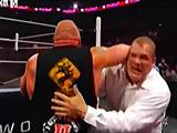 【中文解说】WWE神兽出笼势不可挡!布洛克莱斯纳干翻凯恩&赛斯罗林斯(20