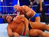 【中文解说】WWE大力士pk回旋之王!大力士鲁瑟夫力量大战安东尼奥塞萨罗(20