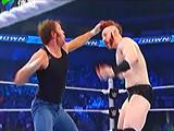 【中文解说】WWE疯子pk大白鲨!迪安布罗斯vs希莫斯-布雷怀亚特现身(2016.04.18)