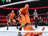 【中文解说】WWE六神君大战!兰迪奥尔顿&约翰塞纳&安东尼奥塞萨罗vs希莫