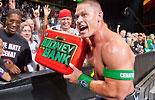 参加WWE合约公文包的超级巨星