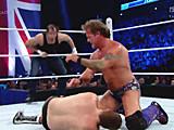 【中文官方解说】WWE四大天王赛!迪安布罗斯&萨米扎恩vs凯文欧文斯&克里