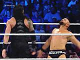 【中文官方解说】WWE罗门伦斯单干子弹军团!罗曼雷恩斯麒麟神臂大战AJ斯塔尔