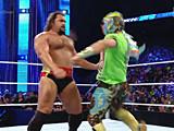 【中文官方解说】WWE大力士鲁瑟夫&拉娜vs扎克雷德&卡利斯(2016.06.25) - ww