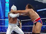 【中文官方解说】WWE大力士失控赛!鲁瑟夫&拉娜vs辛卡拉&卡利斯(2016.06
