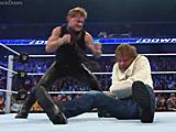 【中文官方解说】WWE世界之王揍疯子!克里斯杰里科Y2J铁布衫暴虐迪安布罗斯