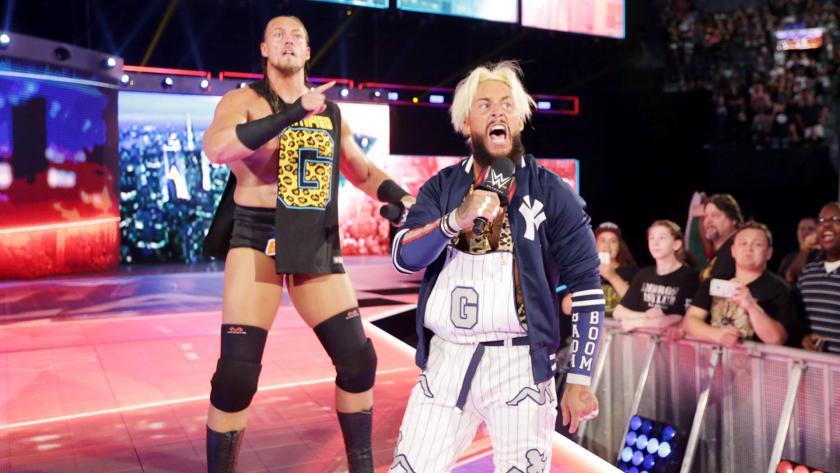 恩佐&大凯斯 vs Y2J&欧文斯《WWE2016夏日狂潮》
