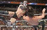芬·巴洛尔 vs 塞斯·罗林斯《WWE2016夏日狂潮》